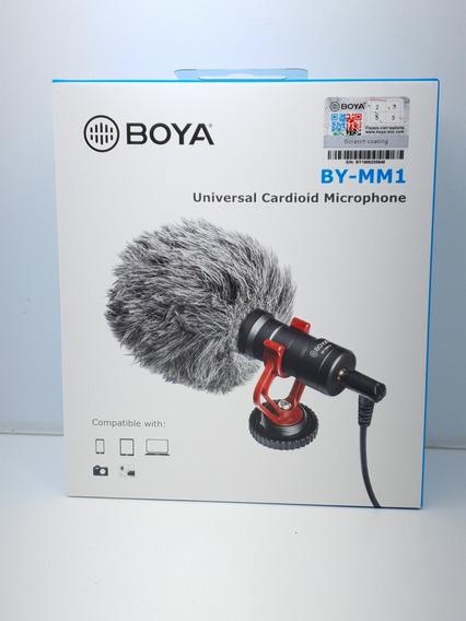 Microfone Boya By-mm1 Original Universal Dudacell