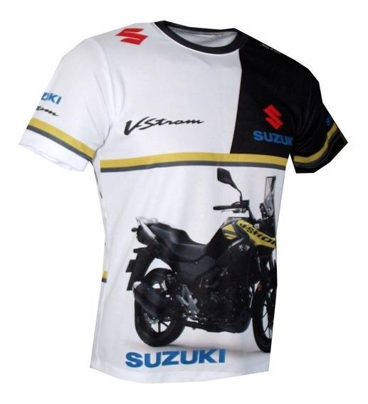 Camiseta Moto Bmw Yamaha Suzuki