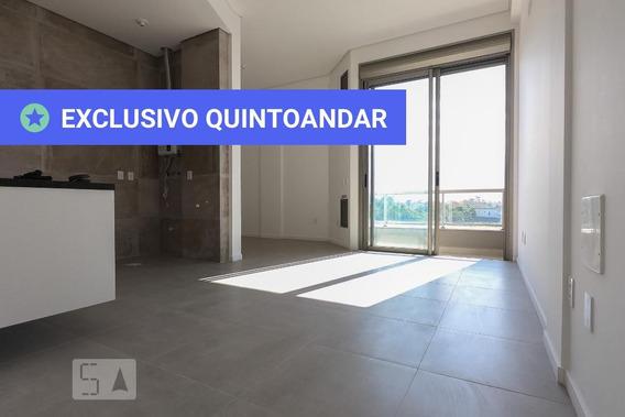 Apartamento No 2º Andar Com 1 Dormitório E 1 Garagem - Id: 892953696 - 253696