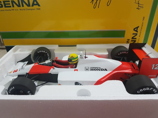 Ayrton Senna - Mclaren Campeão 1988 - 1:12 - Tamanho Grande
