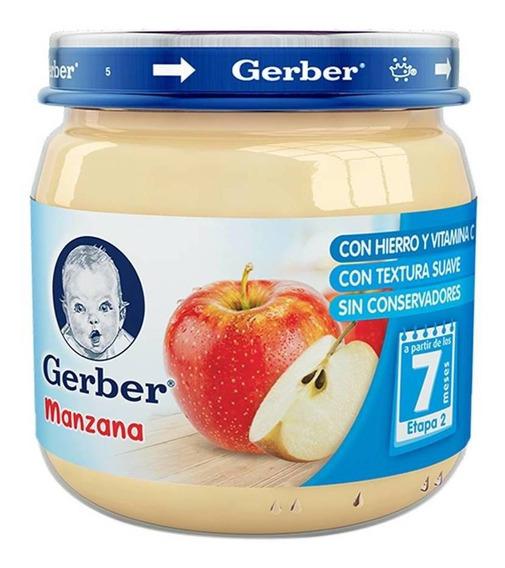 Gerber 2a Etapa Alimento Infantil Manzana De 113 Gr