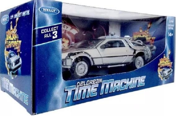 Miniatura Delorean Time Machine De Volta Para O Futuro 2 !!!