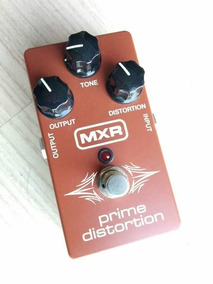 Pedal Mxr Distortion Prime P Guitarra Ac Troca Rexsom