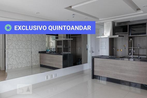 Apartamento No 19º Andar Com 2 Dormitórios E 2 Garagens - Id: 892987683 - 287683