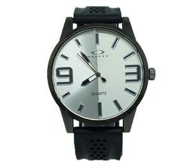 Relógio Oakley Borracha Preto