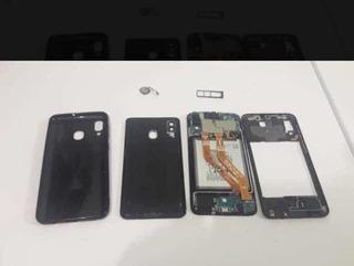 Samsung A20 32gb Vermelho Sem O Aro E Sem O Módulo