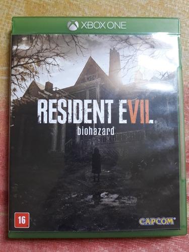 Resident Evil 7 Re7 Biohazard Jogo Terror Xbox One Míd Físic