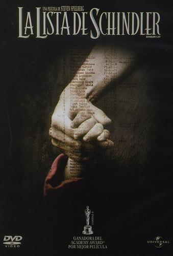 La Lista De Schindler Steven Spielberg Pelicula Dvd