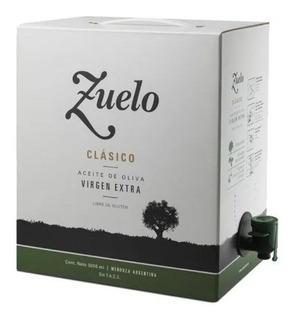 Aceite De Oliva Zuelo Clasico 5lt - Familia Zuccardi