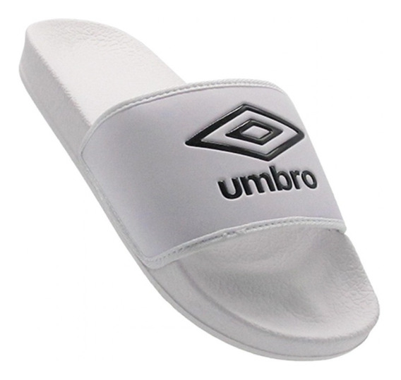 Chinelas Umbro Locker Bco/ngr Sport Town Envios Caba Y Bs As