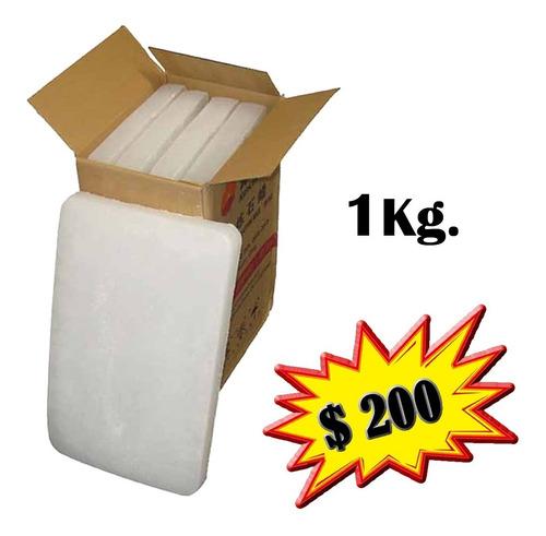 Parafina 1kg Ideal Para Fabricación De Velas Velones