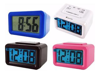Reloj Despertador Eurotime Digital Con Luz Continua Opcional
