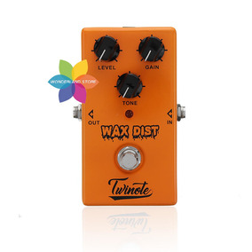 Pedal Nux Ds-3 Twinote Wax Distortion True By Pass Guitarra