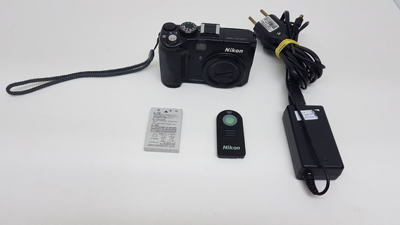 Câmera Nikon Coolpix P6000 13.5mp Gps 4xzoom Lan V1 V2 Eos