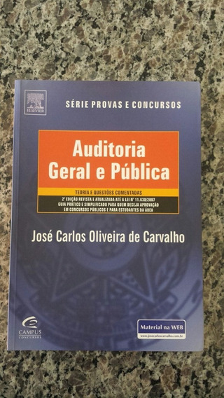 Auditoria Geral E Pública/com Questões/josé Carlos Oliveira