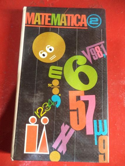 Livro Antigo De Matemática Do Liceu De 1968
