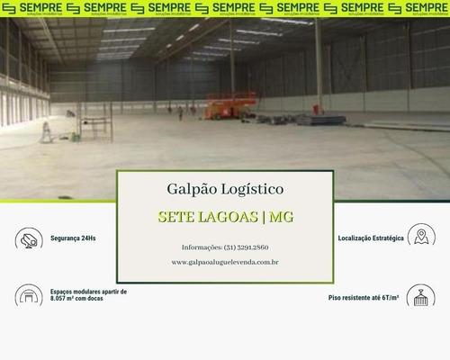 Imagem 1 de 24 de Galpão Para Alugar, 8.057 M² - Barreiro De Cima - Sete Lagoas/mg - Ga0115