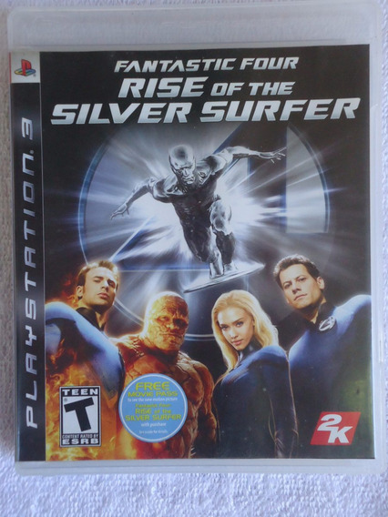 Fantastic Four Rise Of The Silver Surfer Ps3 ** Frete Gratis