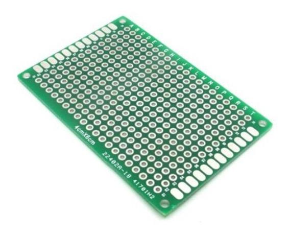 Kit Com 3 Placas De Circuitos Impressos Pcb Protótipo Dupla
