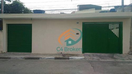 Sobrado Com 4 Dormitórios À Venda, 290 M² Por R$ 350.000,00 - Jardim Presidente Dutra - Guarulhos/sp - So0231