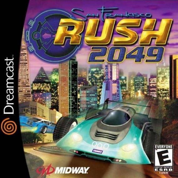 Jogo Dreamcast - Rush 2049