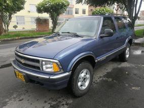 Chevrolet Blazer Mt4300cc Azul Oscuro Perlado Aa Ab 4x4