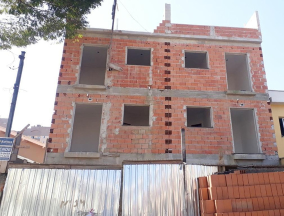 Cobertura Com 2 Dormitórios À Venda, 94 M² Por R$ 278.000,00 - Vila Camilópolis - Santo André/sp - Co0639