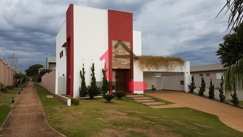 Reserva Santa Luisa - Casa Alto Padrão A Venda No Bairro Bonfim Paulista - Ribeirão Preto, Sp - Mj005