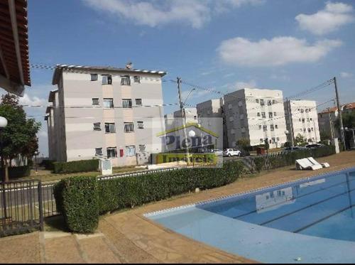 Imagem 1 de 8 de Apartamento Com 2 Dormitórios À Venda, 49 M²  - Jardim Santa Maria (nova Veneza) - Sumaré/sp - Ap1054