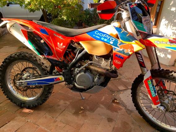 Vendo Ktm 350 Exc-f Año 2013