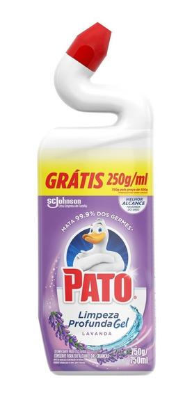 Limpador Sanitário Pato Leve 750ml Pague 500ml