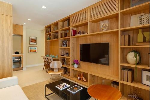 Apartamento Para Venda Em São Paulo, Jardim Paulista, 1 Dormitório, 1 Suíte, 2 Banheiros, 1 Vaga - Cap2728_1-1257941