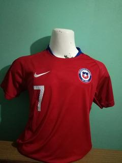 Camiseta Selección Chilena Niño, Nueva, Ver Guia De Tallas