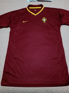 Camisa Retrô Seleção De Portugal