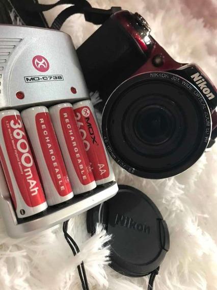 Câmera Nikon Coolpix L820 Full Hd 16mp