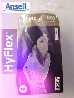 Guantes Anticorte Ansell Hyflex® 11-801 El Par #8 El Mejor!!