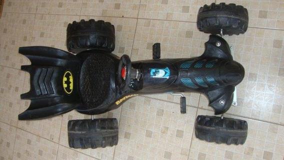 Pedal Car Bandeirante Carro Do Batman Não Funciona