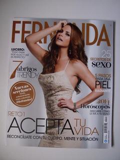 Lucero En Portada De Revista Fernanda - Enero 2014