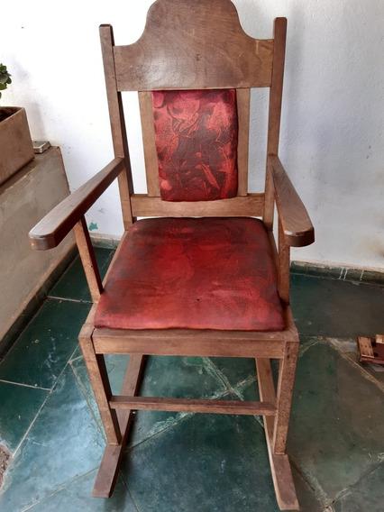 Cadeira Madeira Maciça Antiga