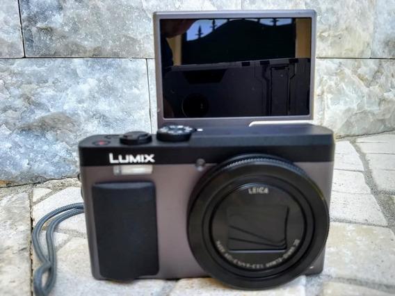 Camera Lumix Zs70/tz90 Video 4k, Lente Leica, Tela Selfie