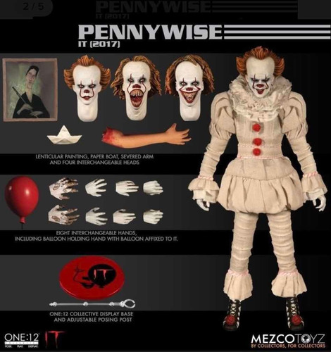 Mezco One:12 Pennywise Nuevo Fpx Hot