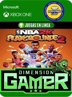 Nba 2k Playgrounds 2 - Xbox One - Modo Local + En Linea