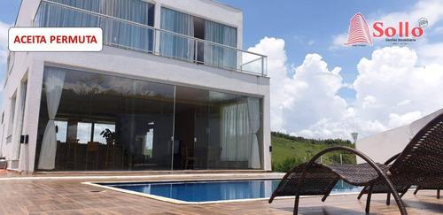 Imagem 1 de 30 de Chácara Com 3 Dormitórios À Venda, 1300 M² Por R$ 980.000,00 - Paraíso De Igaratá - Igaratá/sp - Ch0016