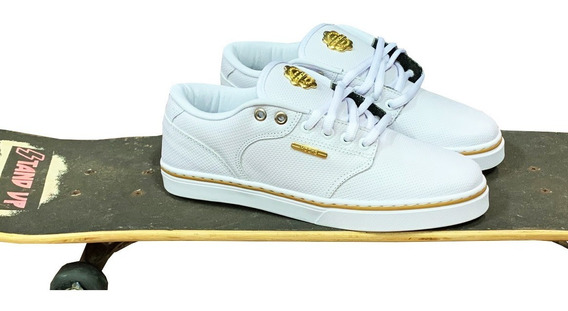 Tênis Hocks Montreal Black Gold White Gold Original + Cores