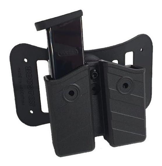 Porta Cargador Tactico Polimero Nivel 2 Rot. C/pasa Cinto