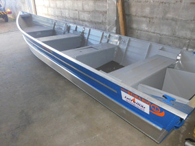 Barco Aluminio 5m+ Carreta 12x Cartao ( Sem Motor)