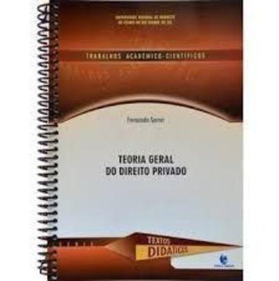 Livro Teoria Geral Do Direito Privado Fernanda Serrer
