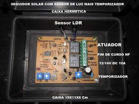 New Seguidor Solar Com Sensor Mais Temporizador.completo