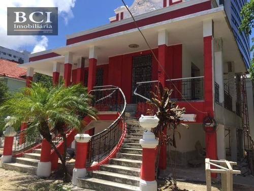 Casa Comercial Para Locação, Boa Vista, Recife. - Ca0056