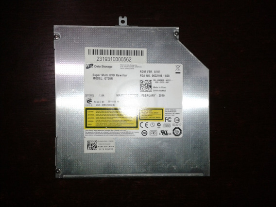 Gravador Leitor De Cd/dvd Sata Gt30n Original Para Notebook